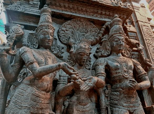 Meenakshi temple architecture