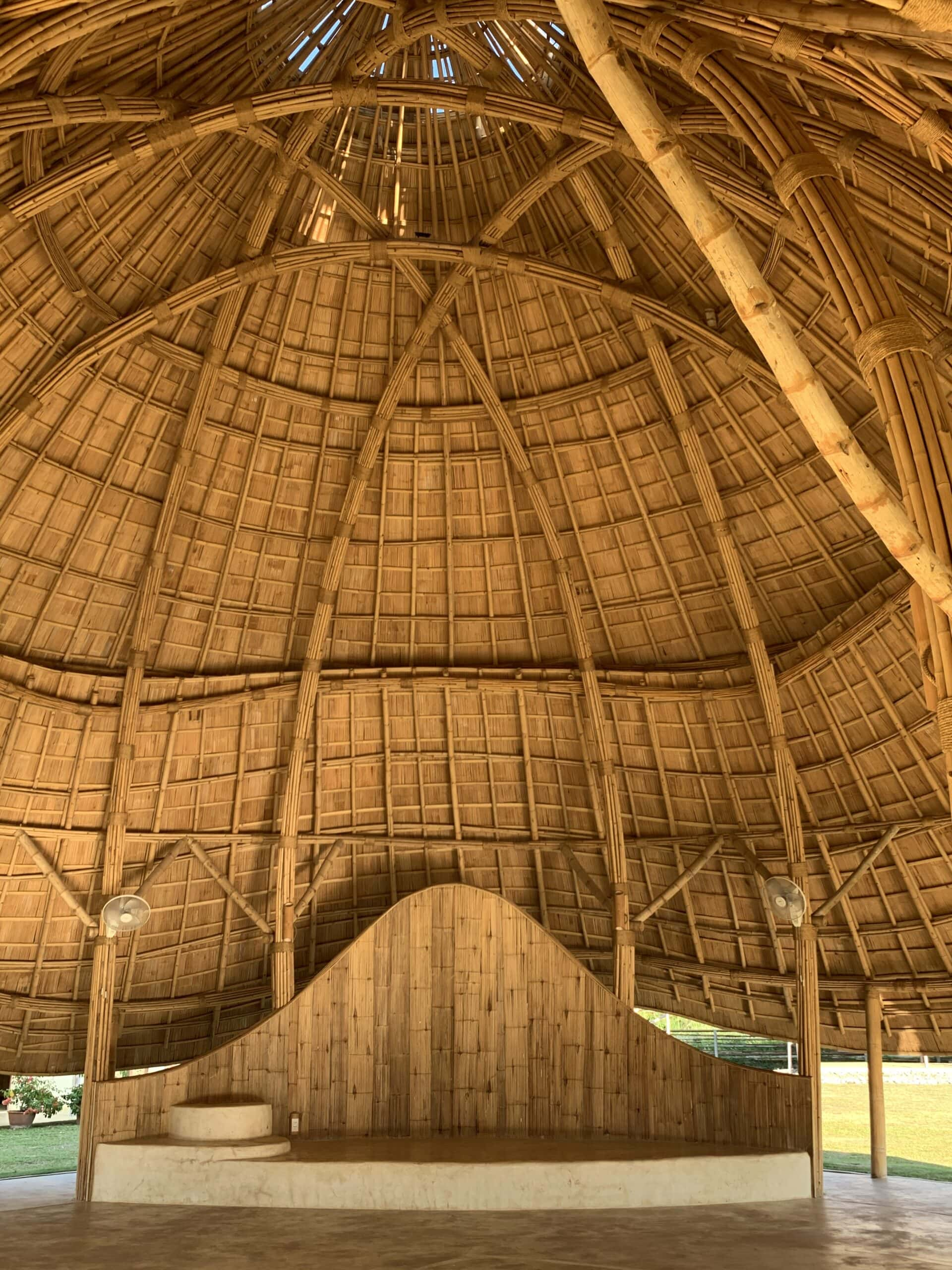 Bamboo Meditation Cathedral & Sunset Sala by CLA