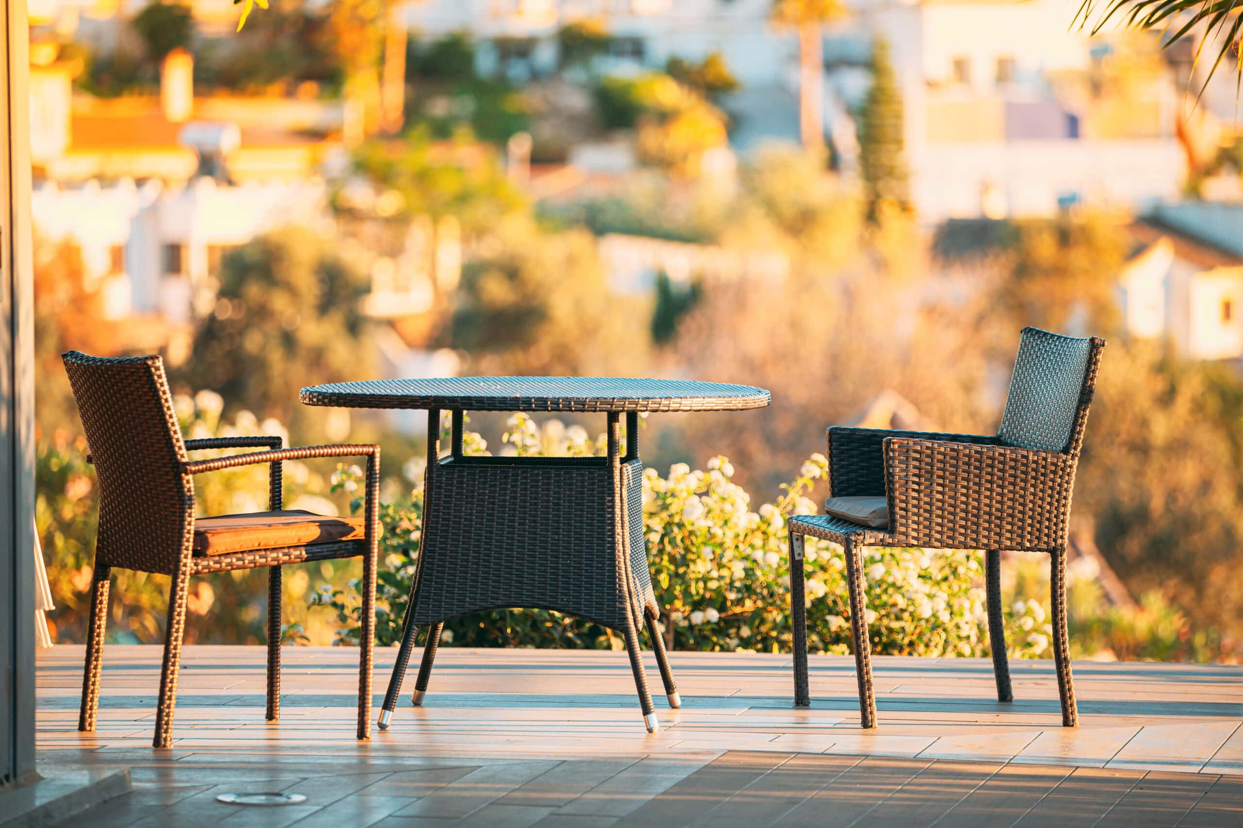 Is wicker good for outdoor furniture?